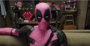 ピンク色のデッドプール(YouTubeよりキャプチャ)