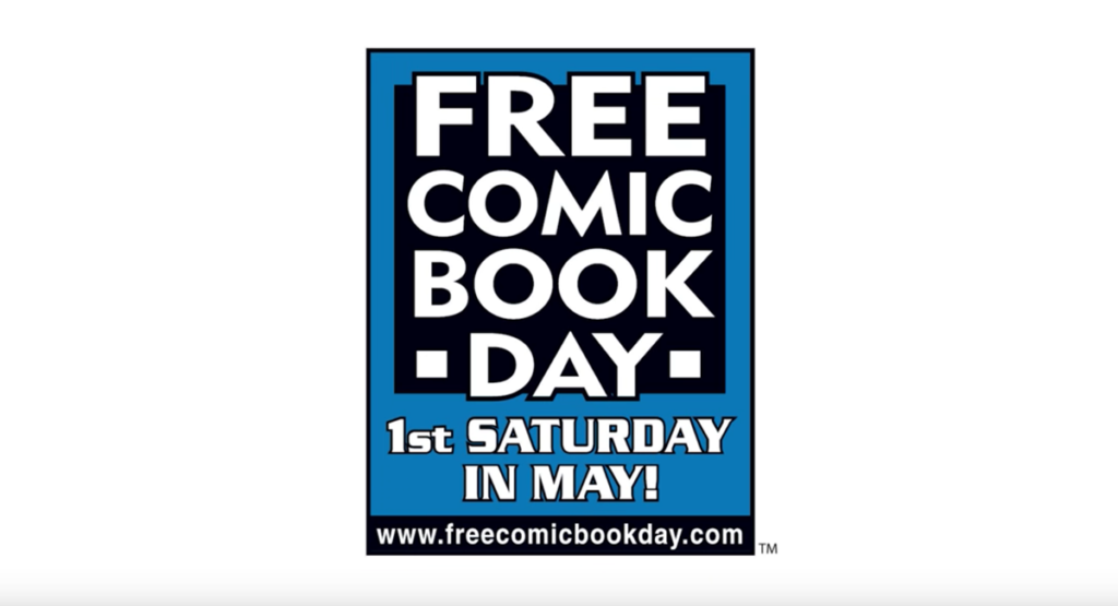FreeComic BookDay 「What Is Free Comic Book Day?」(YouTubeよりキャプチャ)